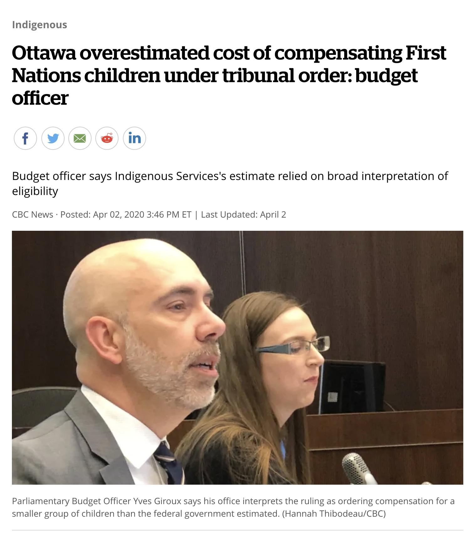 CBC News - Apr 2, 2020