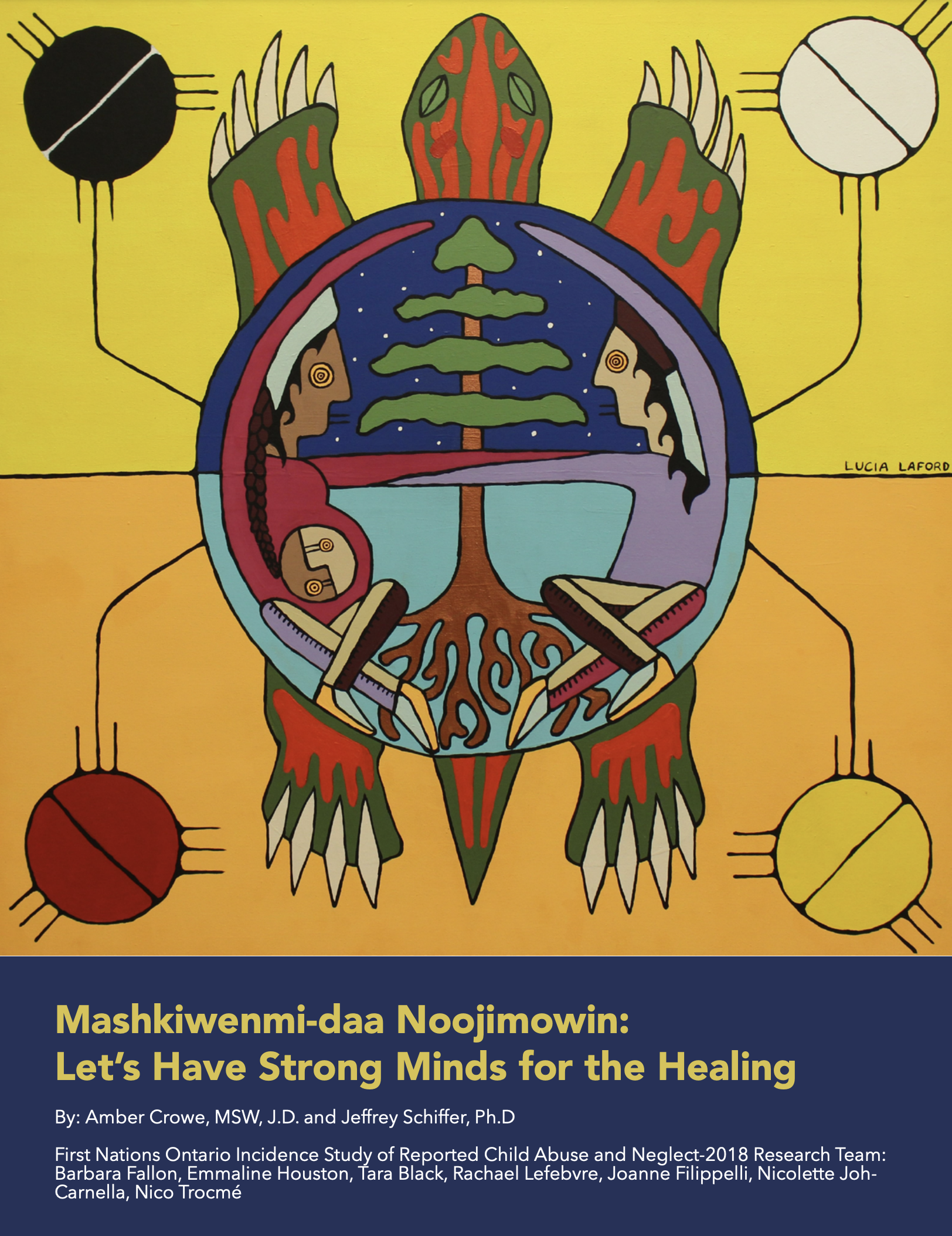 Mashkiwenmi-Daa Noojimowin: Let's Have Strong Minds For The Healing