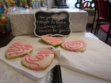 Students at Ottawa Technical HS made 400 Have a Heart Day cookies this year!