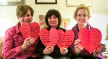 Amnesty International members in Toronto celebrate Have a Heart 2013!