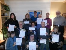 Amnesty International members in Oakville, ON, celebrate Have a Heart 2013!