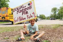 Equal funding for First Nations kids. ODMT in Oakville, 2015