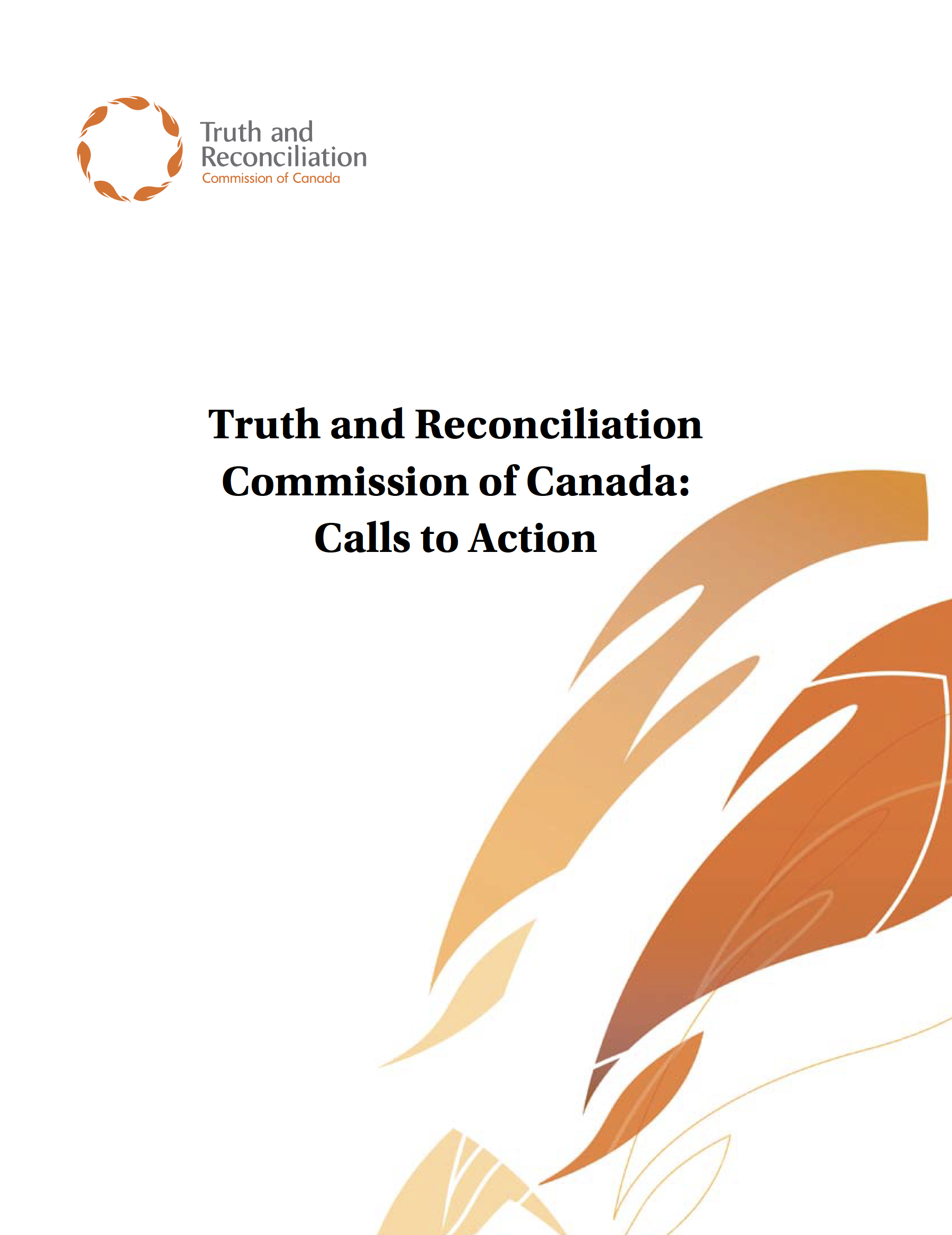 Truth and Reconciliation Commission of Canada: Calls to Action